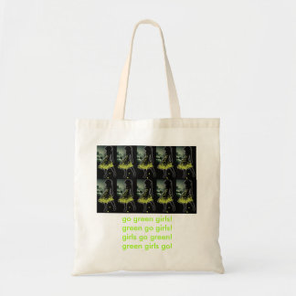 ¡van los chicas verdes! bolso bolsa tela barata