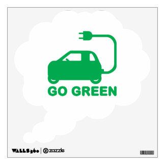 Van los coches eléctricos de la impulsión verde de
