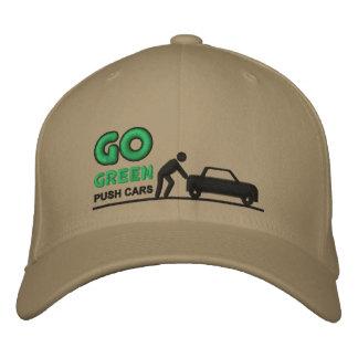 Van los coches verdes del empuje gorra de béisbol bordada