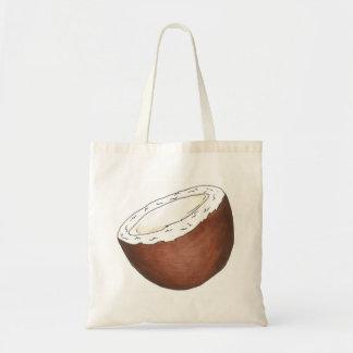 ¡Van los cocos! La bolsa de asas tropical del coco