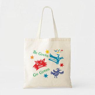 Van los Critters verdes - recicle el bolso Bolsas