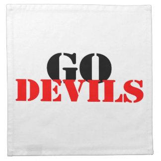 Van los diablos servilletas