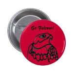 ¡Van los Falcons! Botón Pin