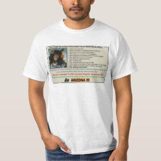 VAN los hombres de la CAMISETA #2 de ARIZONA Remeras