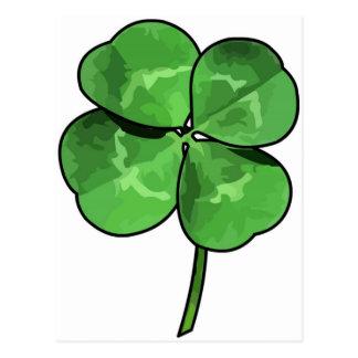 ¡Van los irlandeses! Postal