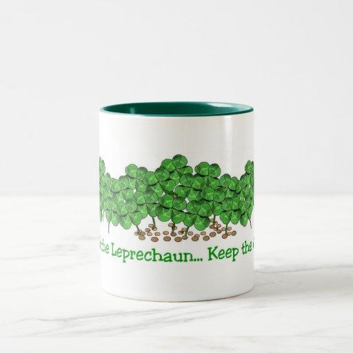 ¡Van los irlandeses! Tazas De Café