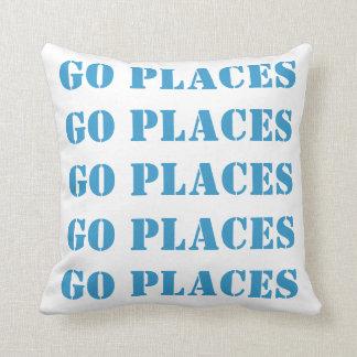 Van los lugares van almohada de los lugares