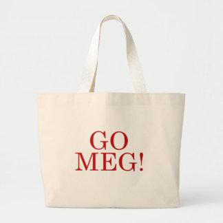 Van los megohmios bolsa tela grande