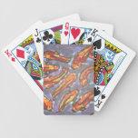 Van los pescados barajas de cartas