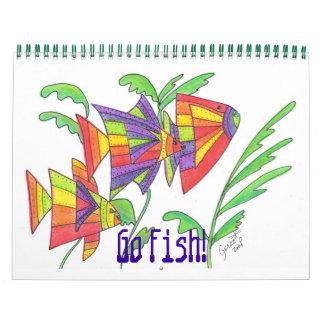 ¡Van los pescados! Calendario