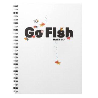 Van los pescados cuaderno