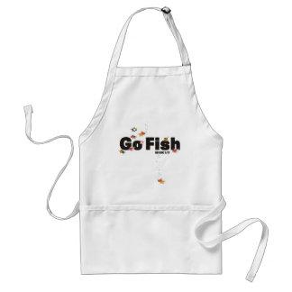 Van los pescados delantal