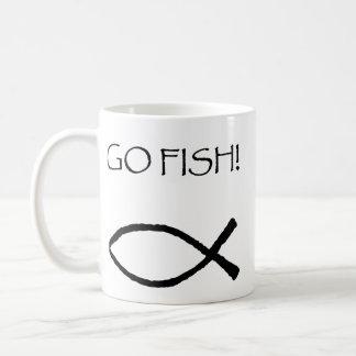 Van los pescados taza básica blanca