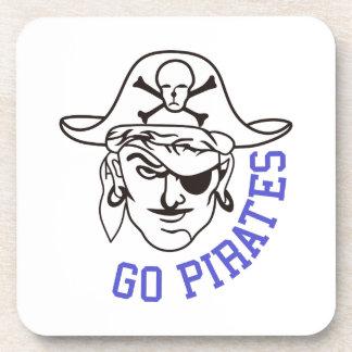 Van los piratas posavaso