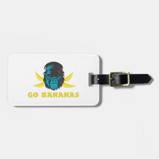 Van los plátanos etiquetas bolsas