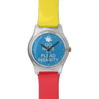VAN los relojes de encargo NUTS del color