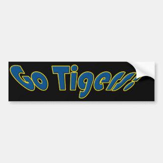 Van los tigres pegatina para auto