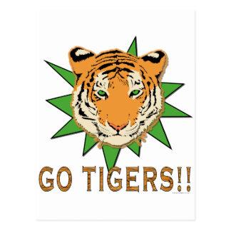 Van los tigres postal