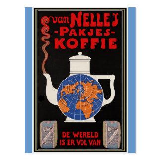 Van Nelle's Coffee - Vintage Advertising Post Cards