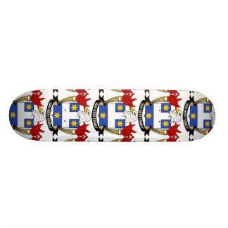 Van Nest Family Crest Custom Skateboard