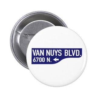 Van Nuys Boulevard, Los Angeles, CA Street Sign Pins