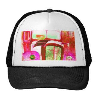 van pink trucker hat