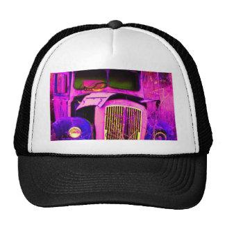 van purple trucker hat