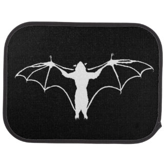 Van Pyre Bat Rear Car Mats (Monochrome)
