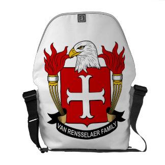 Van Rensselaer Family Crest Messenger Bag