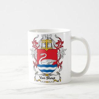 Van Sluys Family Crest Coffee Mugs