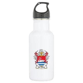 Van Sluys Family Crest Water Bottle