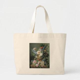 Van Spaendonck Flowers en un florero Bolsa Tela Grande