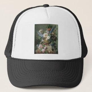 Van Spaendonck Flowers in a Vase Trucker Hat