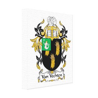 Van Vechten Family Crest Canvas Print