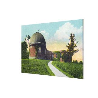 Van Vleck Observatory of Wesleyan University Canvas Print