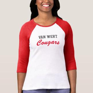 Van Wert Cougars raglan T-Shirt