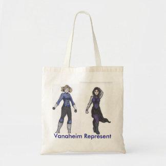 Vanaheim representa el tote bolsa tela barata