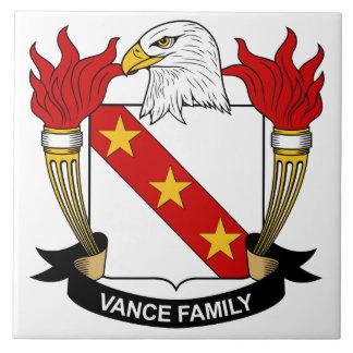 Vance Family Crest Tile