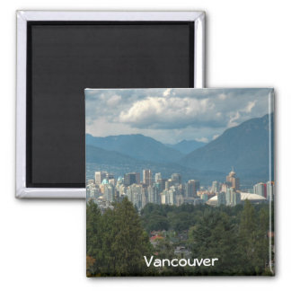 Vancouver 2 Inch Square Magnet