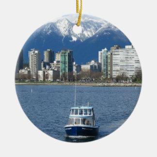 Vancouver A.C. Adorno Redondo De Cerámica
