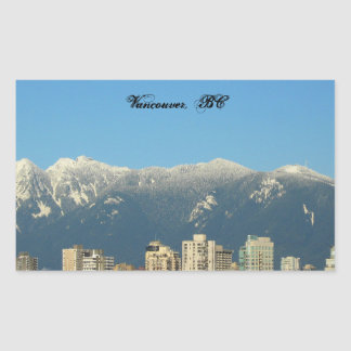 Vancouver, A.C., pegatina de Canadá
