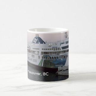 Vancouver A C taza de café del recuerdo del tran