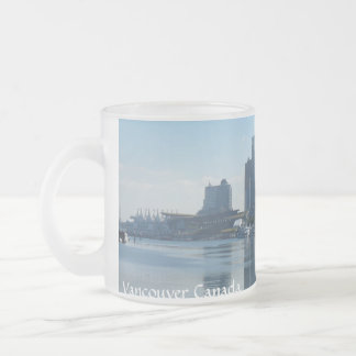 Vancouver ahueca los vidrios esmerilados de las taza de cristal