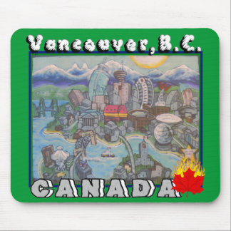 Vancouver B.C. Canada Mousepad