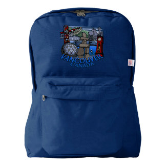 Vancouver Backpack Vancouver Souvenir Bags Custom
