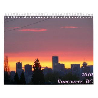Vancouver, BC 2010 Calendar