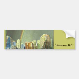 Vancouver BC Bumper Sticker