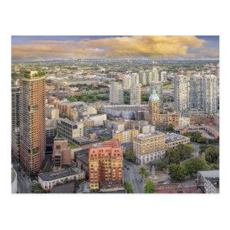 Vancouver BC Canada Downtown Cityscape Postcard