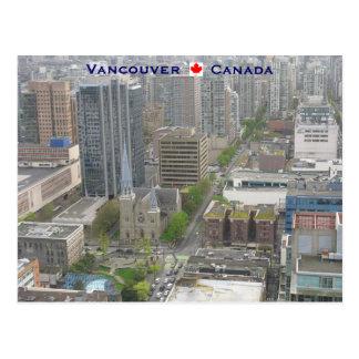 Vancouver BC Canada Postcard