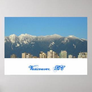 Vancouver, BC, Canada Print